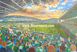 Hand Painted original of windsor park